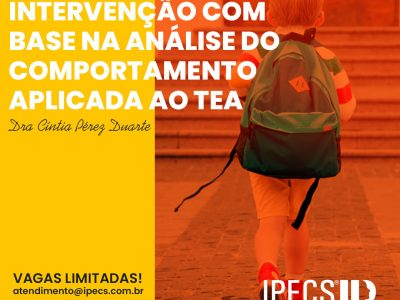 Workshop – Intervenção com base na análise do comportamento aplicada ao TEA